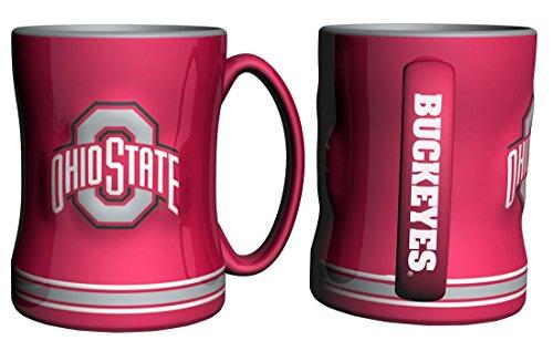 Boelter Brands NCAA Ohio State Buckeyes 338896 Coffee Mug, Team Color, 14 oz