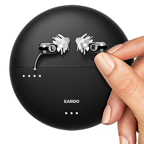 EARGO Neo Hearing Aid - Virtually Invisible, Rechargeable, Professional-Grade Hearing Aid - Delivered to Your Doorstep - No in-Person Visit Needed