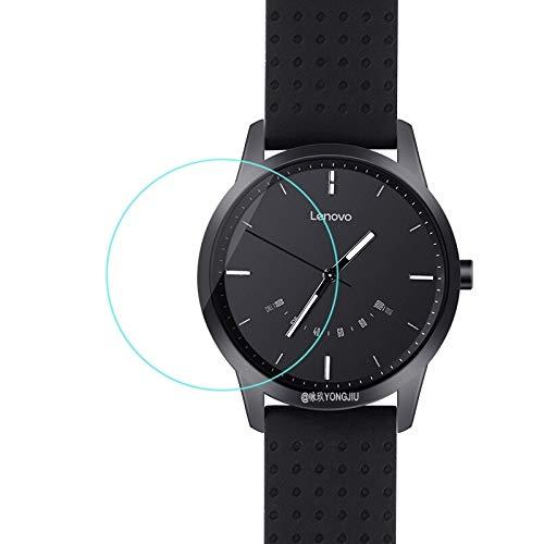 HUANGCAIXIA Protector de Pantalla de Reloj Inteligente Película de Cristal Templado 2.5D de 0.26mm for Lenovo Watch 9