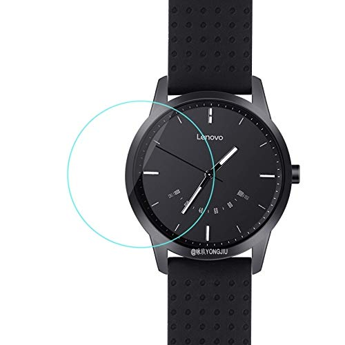 wenjinghua WJH Película de Cristal Templado 2.5D de 0.26mm for Lenovo Watch 9
