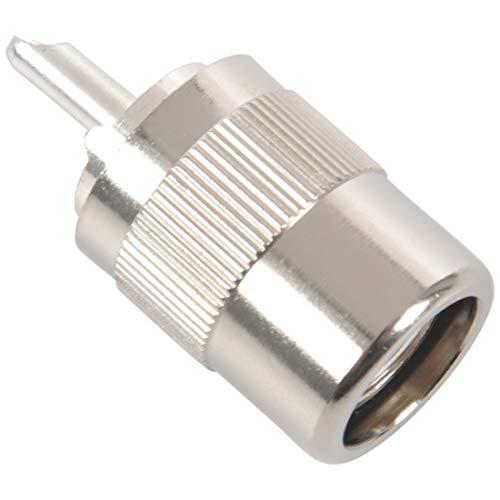 Coaxiale LIJM UHF Male PL259 / SO239 Twist-on RFC400 RG8 Coaxiale RF-kaart Connector Stopcontact