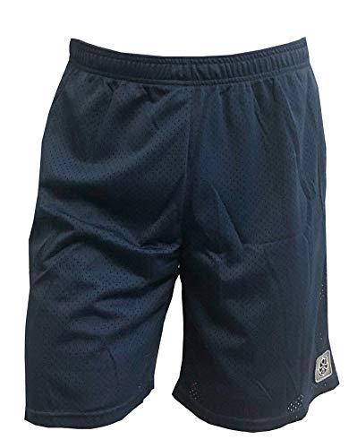 """Hawaiian Island Creations (HIC) 20"""" Fast Break Mesh Volley Shorts, Navy Blue, XL"""