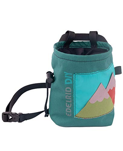 EDELRID DIY Chalk Bag Grün, Kletterzubehör, Größe One Size - Farbe Assorted Colours