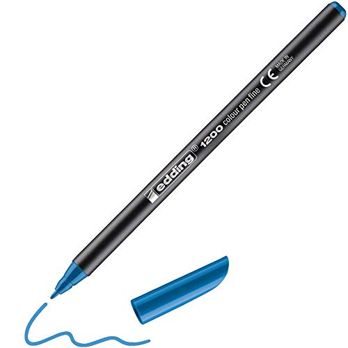 Edding 1200/010 - Rotulador, color azul claro