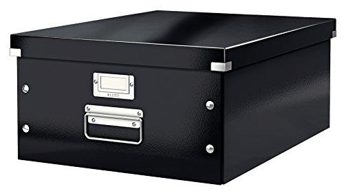 Leitz Click & Store Aufbewahrungs- und Transportbox, A3, schwarz, 60450095