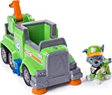 Paw Patrol Ultimate Rescue, Rocky's Ultimate Rescue Recycling Truck with Moving Crane & Flip-Open Ramp, for Ages 3 & Up