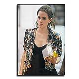 GHGG Emma Watson - Póster decorativo para pared (70 x 105 cm)