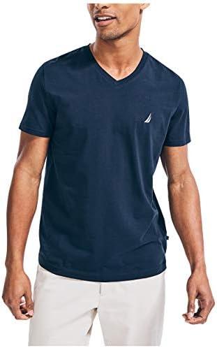 Nautica Men s J Class Logo V Neck T Shirt Navy Large product image