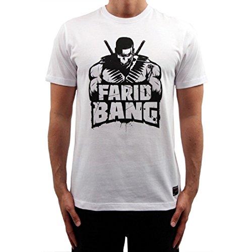 Farid Bang Logo T-Shirt Weiss (XXL)