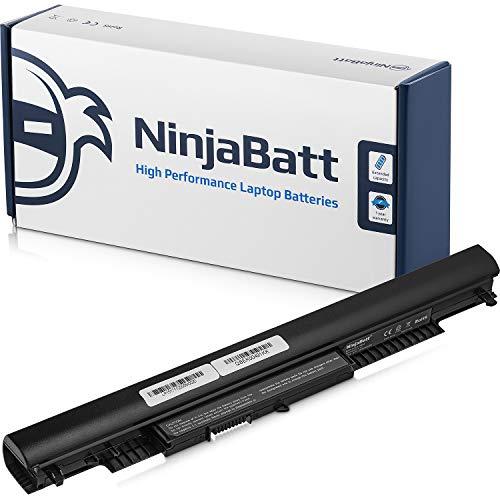 NinjaBatt Batteria per HP 807957-001 807956-001 HS04 HS03 HSTNN-LB6V HSTNN-LB6U 807612-421 807611-421 250 G4 250 G5 255 G5 TPN-C125 15-AF067SA 843532-851 – Alte prestazioni [4 Celles/2200mAh/33Wh]