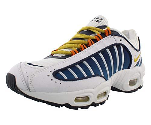 Nike Air Max Tailwind Iv Womens Shoes Size 8.5, Color: White/Saffron Quartz/Blue/Yellow