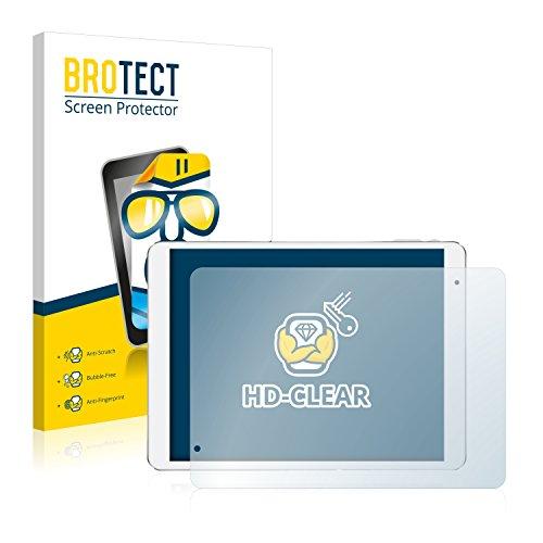 BROTECT Protector Pantalla Compatible con Teclast X98 Pro Protector Transparente (2 Unidades) Anti-Huellas