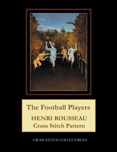 The Football Players: Henri Rousseau Cross Stitch Pattern