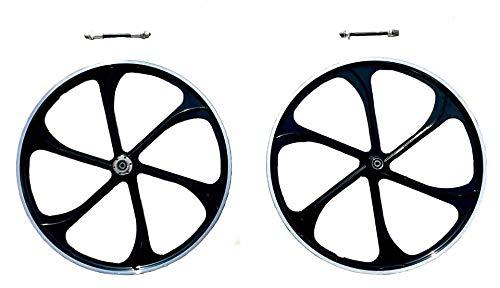 CDHPOWER 26' Aluminum Mag Wheels/Black/Bicycle Wheel/Rim - 66cc/80CC 2 Stroke Gas Motorized Bicycle