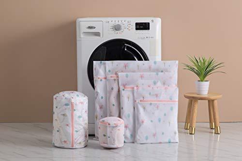Sacs à linge en maille réutilisation durable sac de machine à laver pour délicat chemisier,...