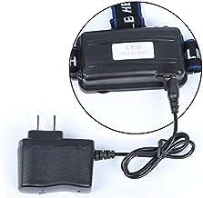 hehuanxiao hoofd zaklamp directe oplader krachtige koplamp oplader 18650 batterij hoofd licht oplader