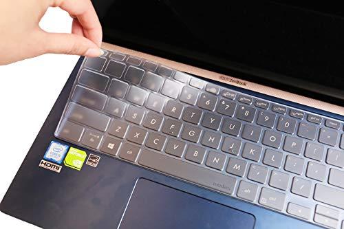 Premium-Tastatur-Abdeckung für Asus ZenBook UX433FA UX433FN (14 Zoll / 35,6 cm), ultradünn, TPU
