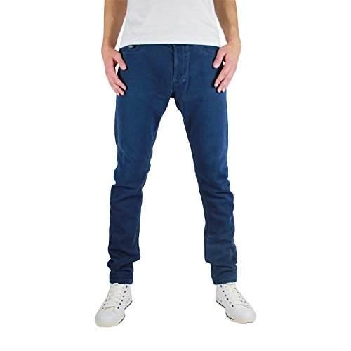 Diesel Tepphar 0850Y_Stretch Herren Jeans Hose Slim Carrot (30W, Blau)