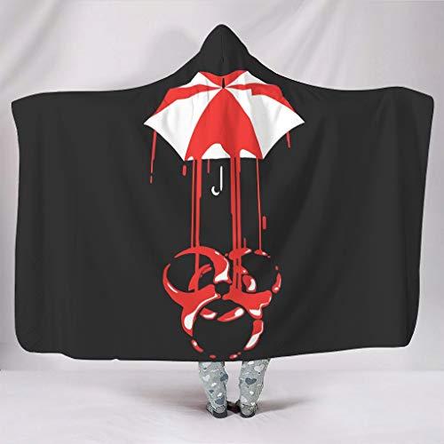 Rinvyintte Gevaarlijke paraplu, zacht, verschillende patronen met capuchon, wikkelen voor stoel in de lente of herfst of winter, casual stijl