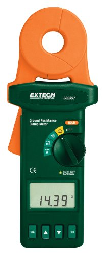 Extech 382357 Clamp-on Ground Resistance Tester