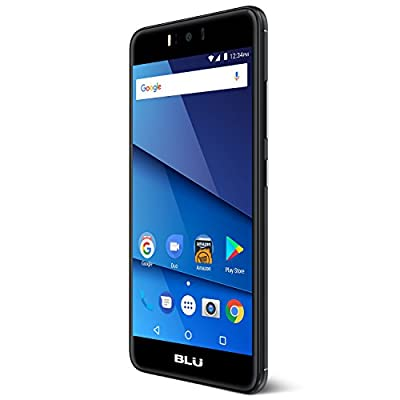 "BLU R2 - 5.2"" Unlocked Smartphone - 8GB + 1GB RAM -Black"