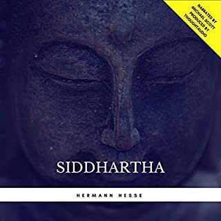 Siddhartha audiobook cover art