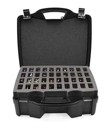 CASEMATIX Miniature Storage Hard Shell Figure Case...