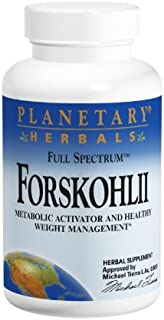 Planetary Herbals Forskohlii Full Spectrum 130 Mg, 120 Count