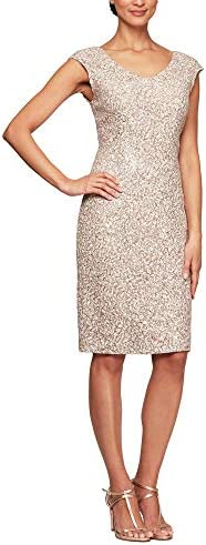 Champagne dress for wedding guest _image0