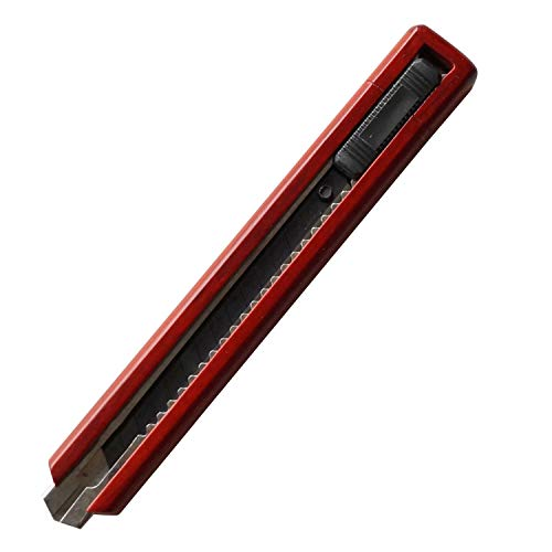 天然素材 高級 木製 カッターナイフ ステーショナリー 文具 (ローズウッド)