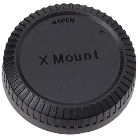ETSUMI フジフィルムXマウント対応レンズリアキャップ ブラック E-6560