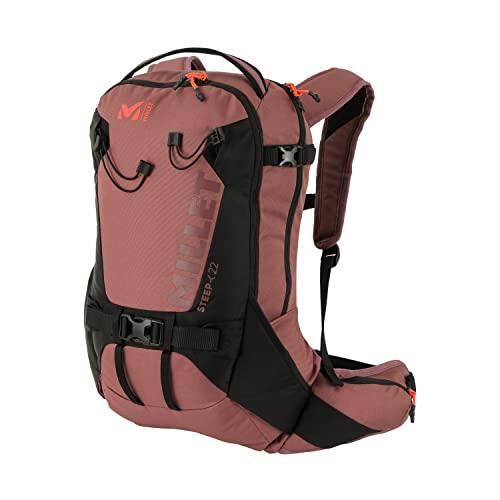 MILLET – Steep 22 – Mochila Unisex para Esquí de Fondo – Capacidad de 22 L – Negro/Rosa