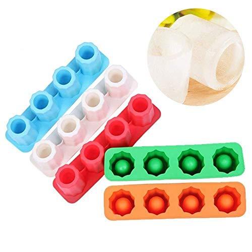 CTOBB Drop Eiswürfel-Behälter-Form Makes Schnapsgläser EIS-Form-Neuheit-Geschenke EIS-Behälter Sommer Trinken Werkzeug Ice Schnapsglas Mold