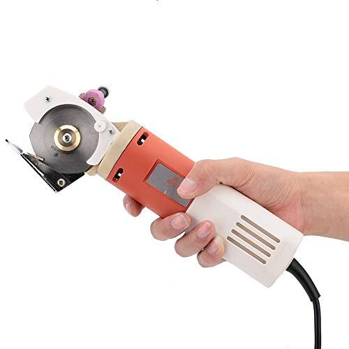 Tijeras eléctricas de corte de tela rotativas, 220V de mano portátil de...