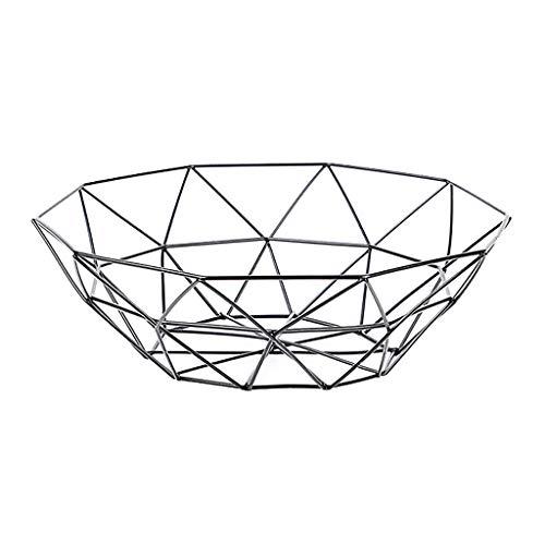 FiedFikt Housewares - Frutero de Alambre geométrico para Fruta