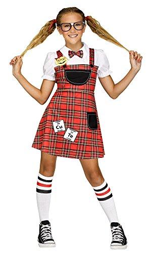 Fun World Head of Class Costume, Large 12 - 14, Multicolor
