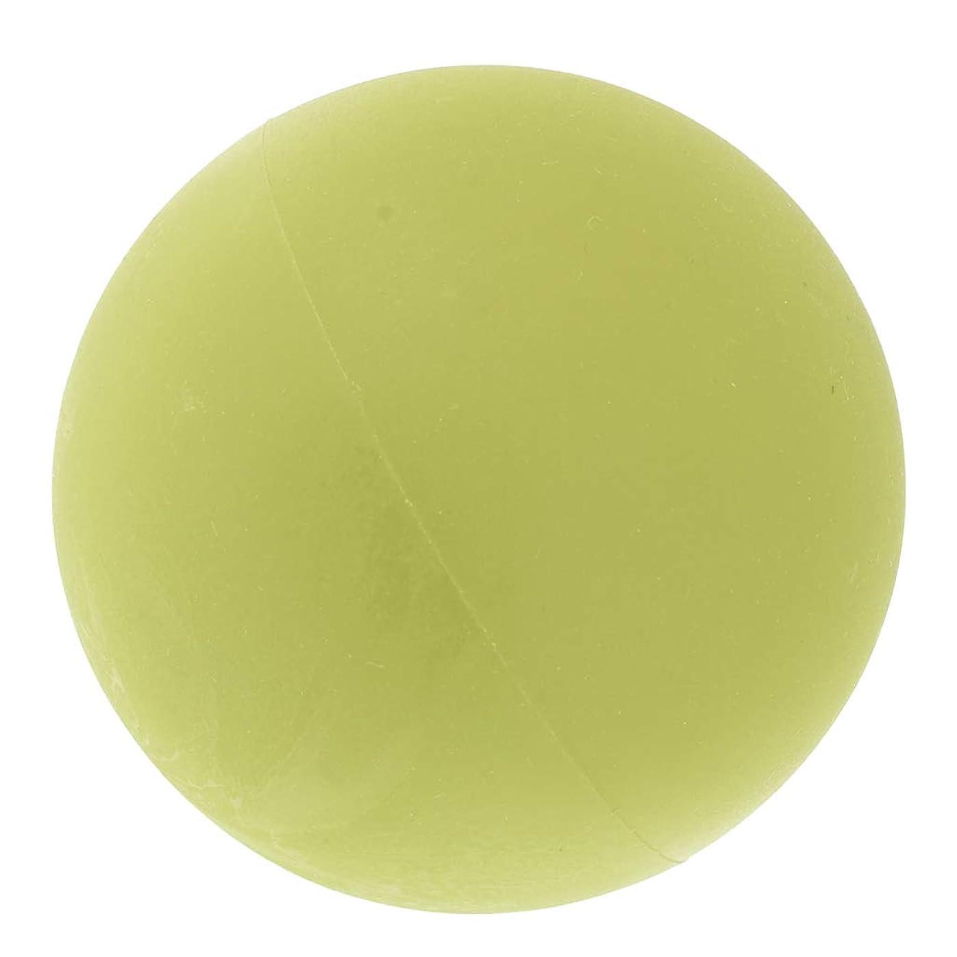 決して心配する死P Prettyia マッサージボール トリガーポイント 筋膜リリース トレーニング ヨガ ツボ押しグッズ 全4色 - 緑