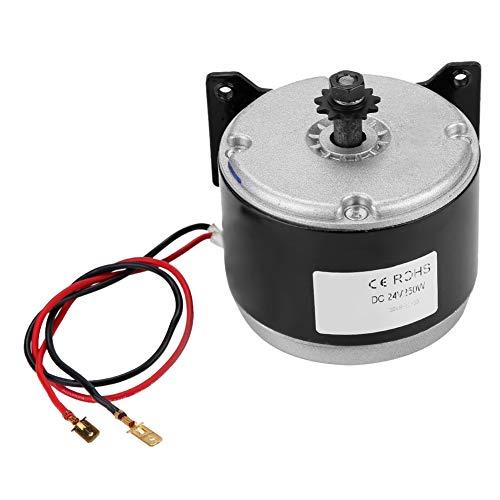 KIMISS 24V Elektromotor, 250W 14A Elektroroller Motor 2750RPM Kettenelektromotor für E-Roller
