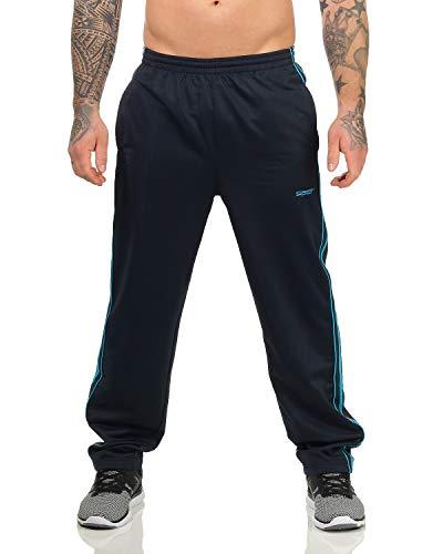 ZARMEXX Herren Trainingshose Sporthose Freizeithose Fitness Gym Jogginghose Sportswear (Navy, 3XL)