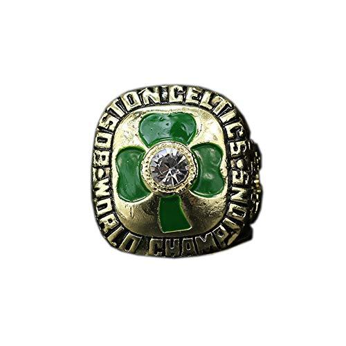 TYTY 1984 NBA Basketball Professional League Celtics Championship Ring Serie de Anillos para Fanáticos de Los Deportes,Without Box,11#