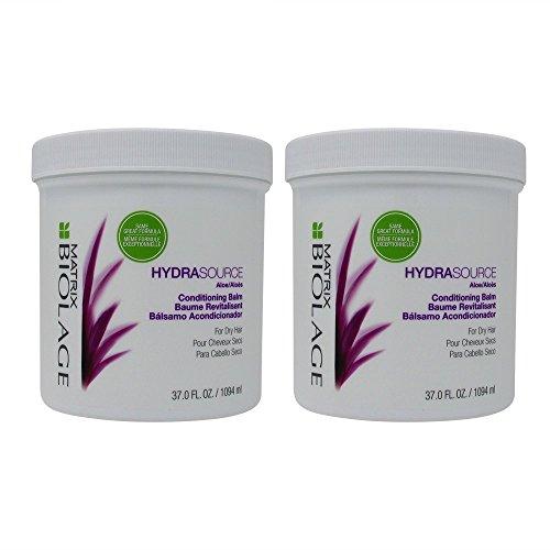 Matrix Biolage HydraSource Conditionneur baumes 1000 ml Duo Lot pour cheveux secs/Abîmés/déshydratées