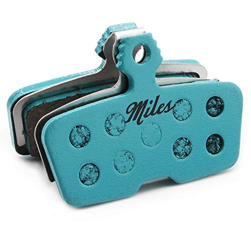 Miles Racing ® Scheibenbremsbeläge, semi-metallisch für Avid Code, Code R (2011-2014); SRAM Guide RE