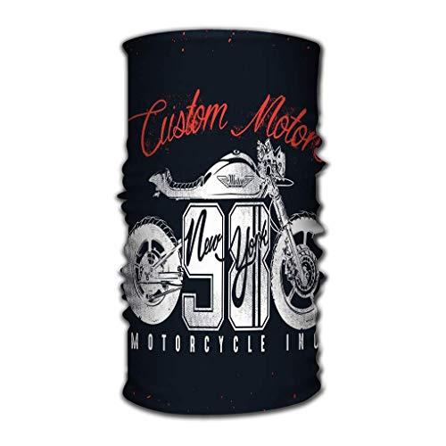 Quintion Robeson Variedad Bufanda Envuelva Pañuelo Sombreros Motocicleta Diseño Personalizado Nueva York