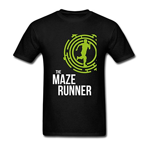 kittyer Hombres del diseño de la Maze Runner algodón T Shirt S