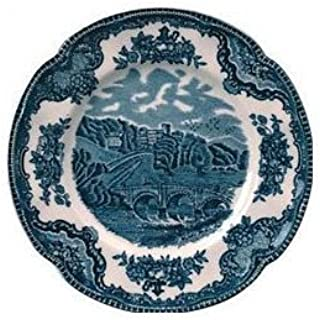 """Johnson Brothers Old Britain Castles Blue Bread & Butter Plate, 6.25"""", Multicolored by Johnson Brothers [並行輸入品]"""