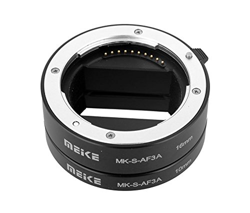 Meike Zwischenring-Set 10mm / 16mm für Maktrofotograhie passend für Sony E-Mount
