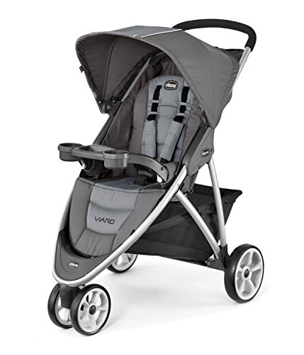Chicco Viaro Quick-Fold Stroller, Graphite
