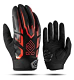 Cool Change Cycling Gloves Motorcycle Mountain Bike Gloves Gel Padded Full Finger Bicycle Gloves for...