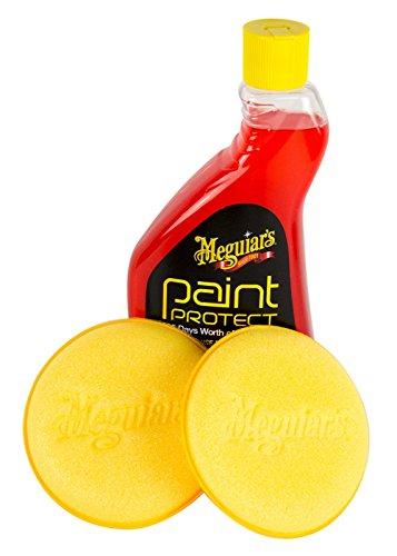 Meguiar's MEGUIARS Paint Protect Lackschutz Lackversiegelung 532 ml & Pad 2 STK