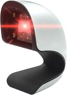 قارئ رمز QR متعدد الاستخدامات من Docooler Barcode Scanner USB كود QR 1 & 2D لسوبرماركت/المتاجر (فضي)